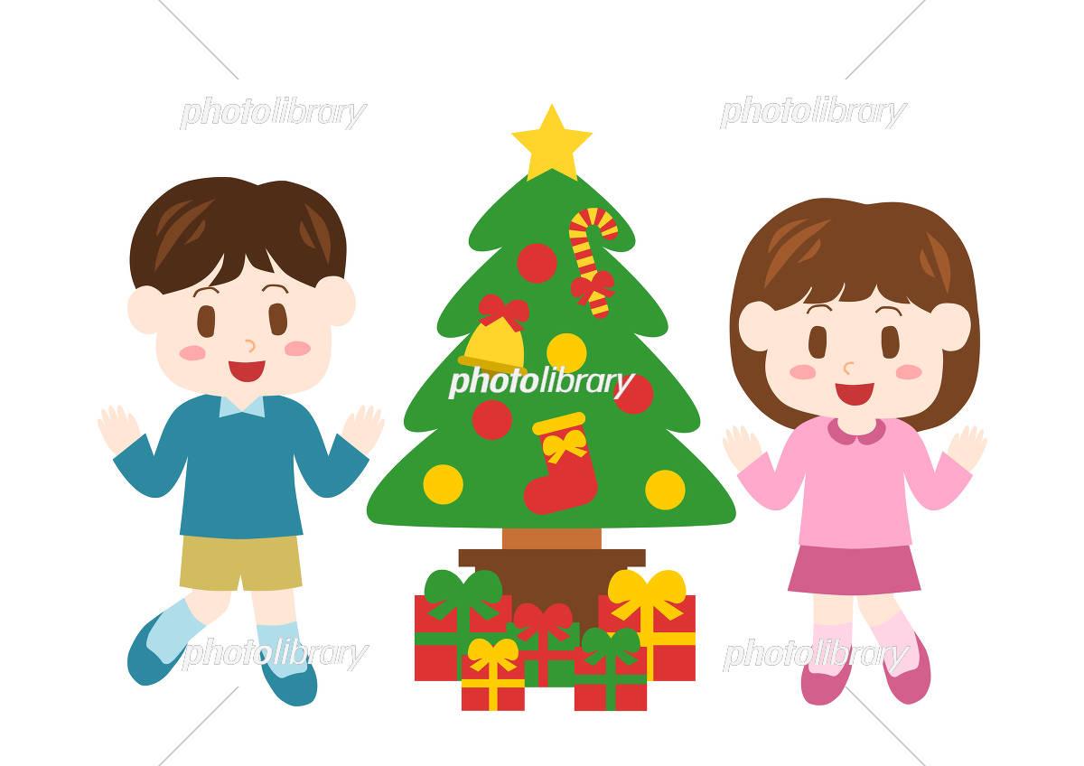 クリスマス カップル イラスト
