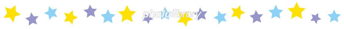 ライン 背景 かわいい 星 イラスト素材 [ 5395609 ] - フォトライブラリー photolibrary