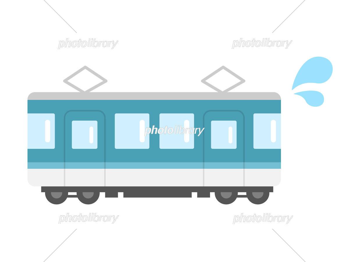 電車の遅延イラスト イラスト素材 [ 5397354 ] - フォトライブラリー