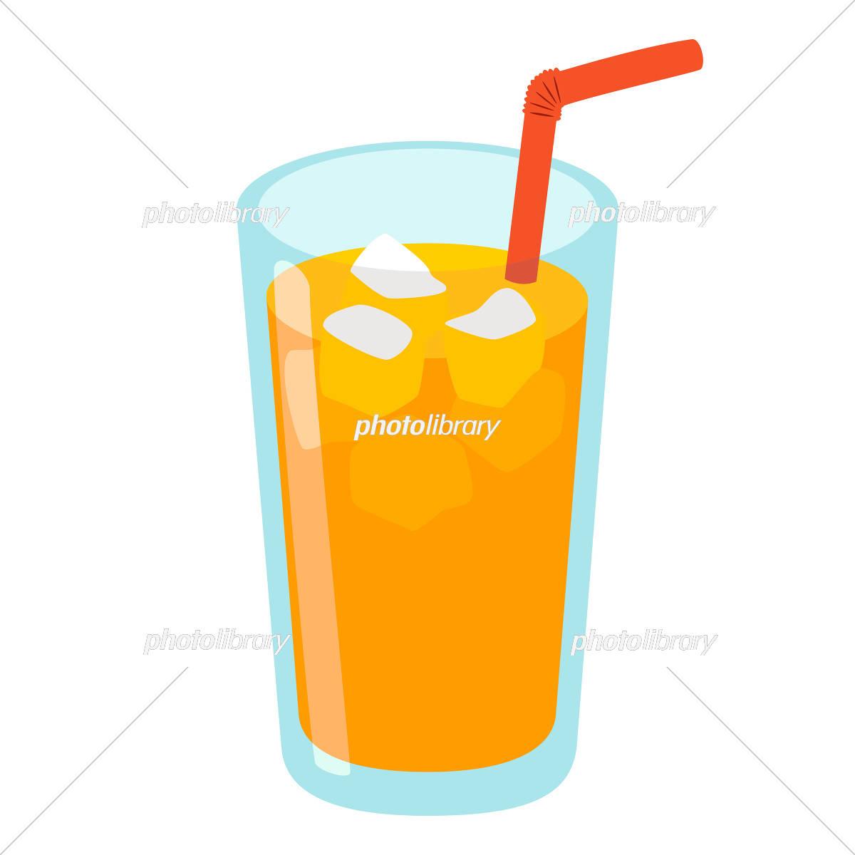 オレンジジュース イラスト素材 5400772 フォトライブラリー
