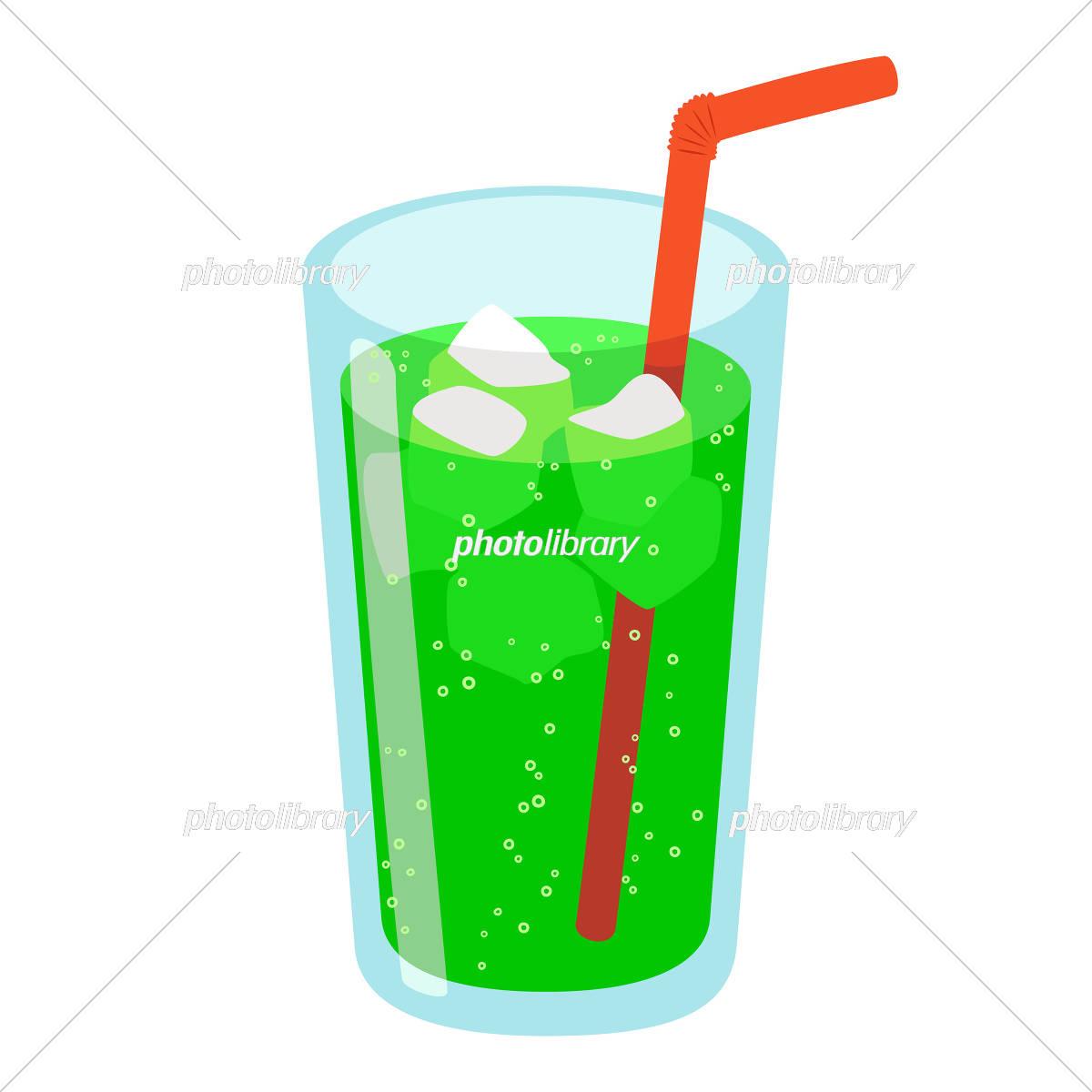 飲み物 イラスト イラスト素材 [ 5400773 ] - フォトライブラリー