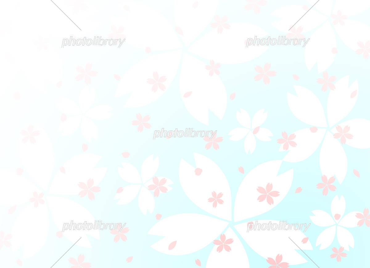 桜 背景 イラスト素材 [ 5402327 ] - フォトライブラリー photolibrary