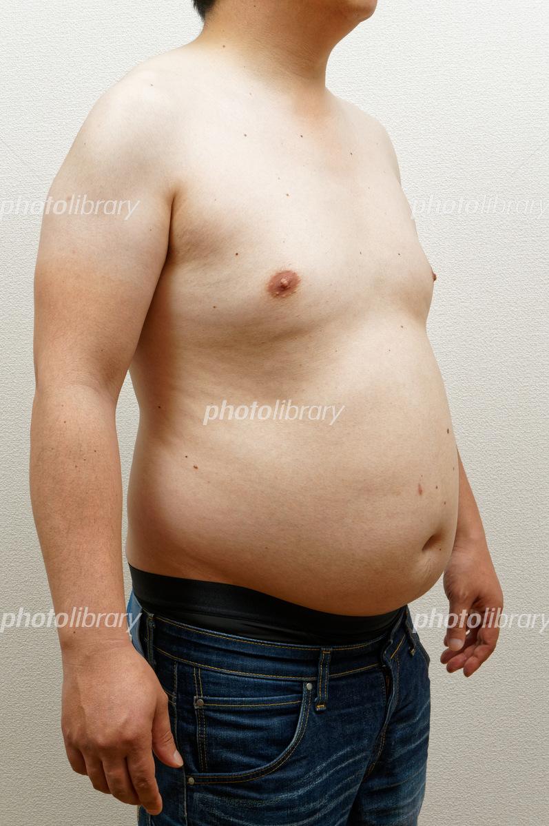 出たお腹・男性 写真素材 [ 5981496 ] - フォトライブラリー photolibrary
