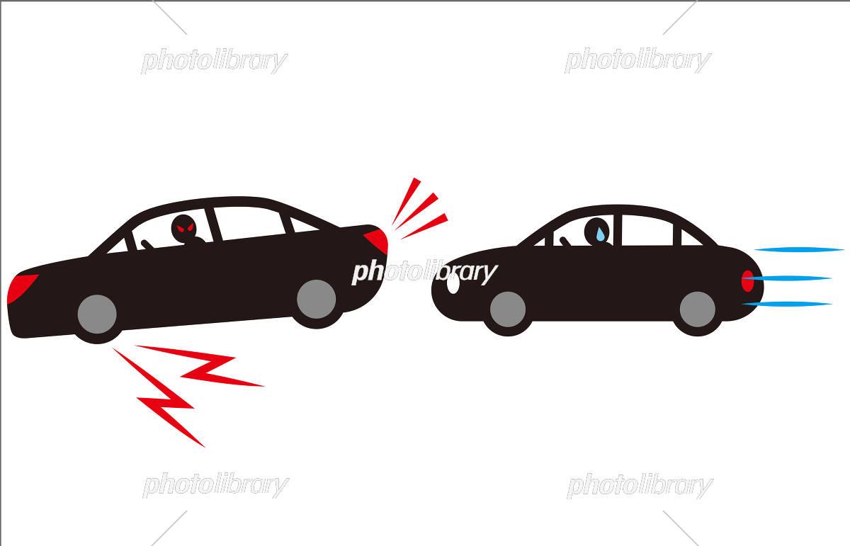 煽り運転 急ブレーキ