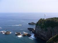 Cape Ashizuri and lighthouse Stock photo [231556] Ashizuri