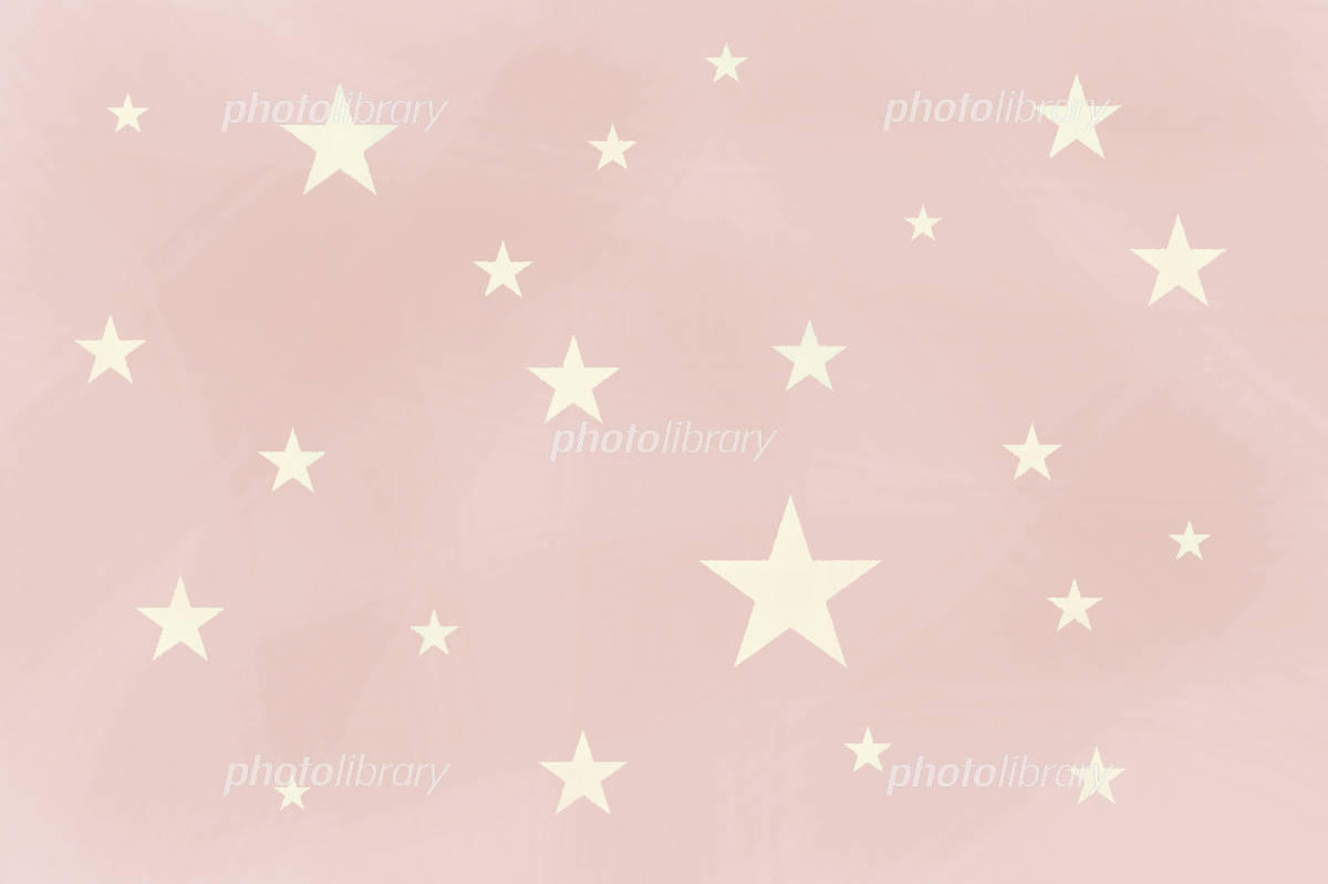 壁紙 スター 薄いピンク イラスト素材 587895 フォトライブ
