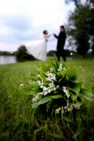 Lily of the valley bouquet of Stock photo [583988] Bouquet
