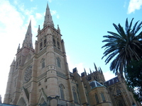 St. Mary's Cathedral Stock photo [585607] Australia