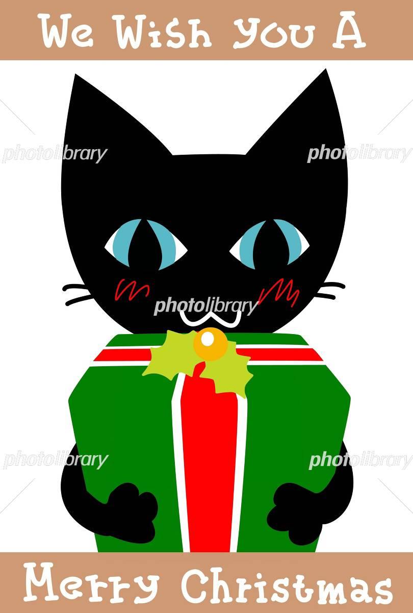 猫とクリスマス イラスト素材 665837 フォトライブラリー Photolibrary