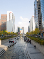Cheonggyecheon Stock photo [656003] Cheonggyecheon