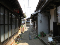 Alley of Shimane Peninsula Stock photo [657542] Road