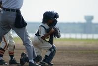 Boy baseball catcher Stock photo [666472] Baseball