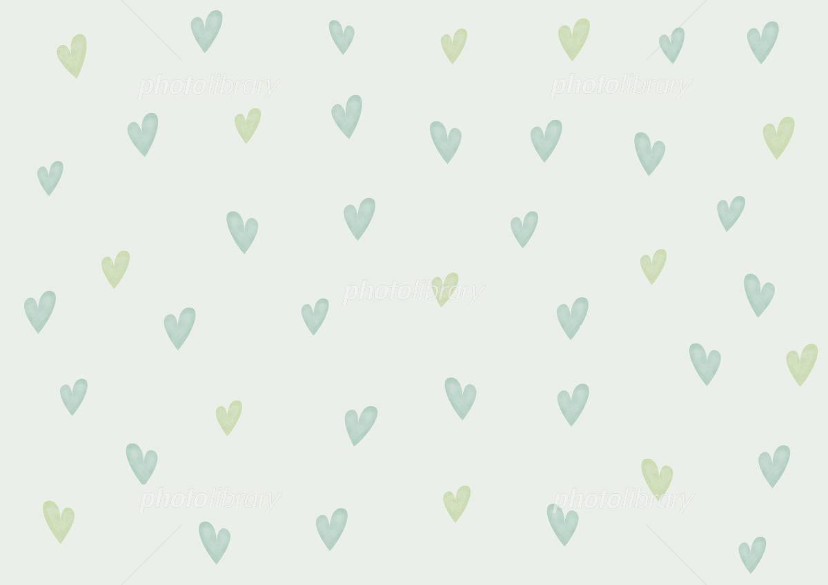 壁紙 ハート 緑 イラスト素材 748193 フォトライブラリー