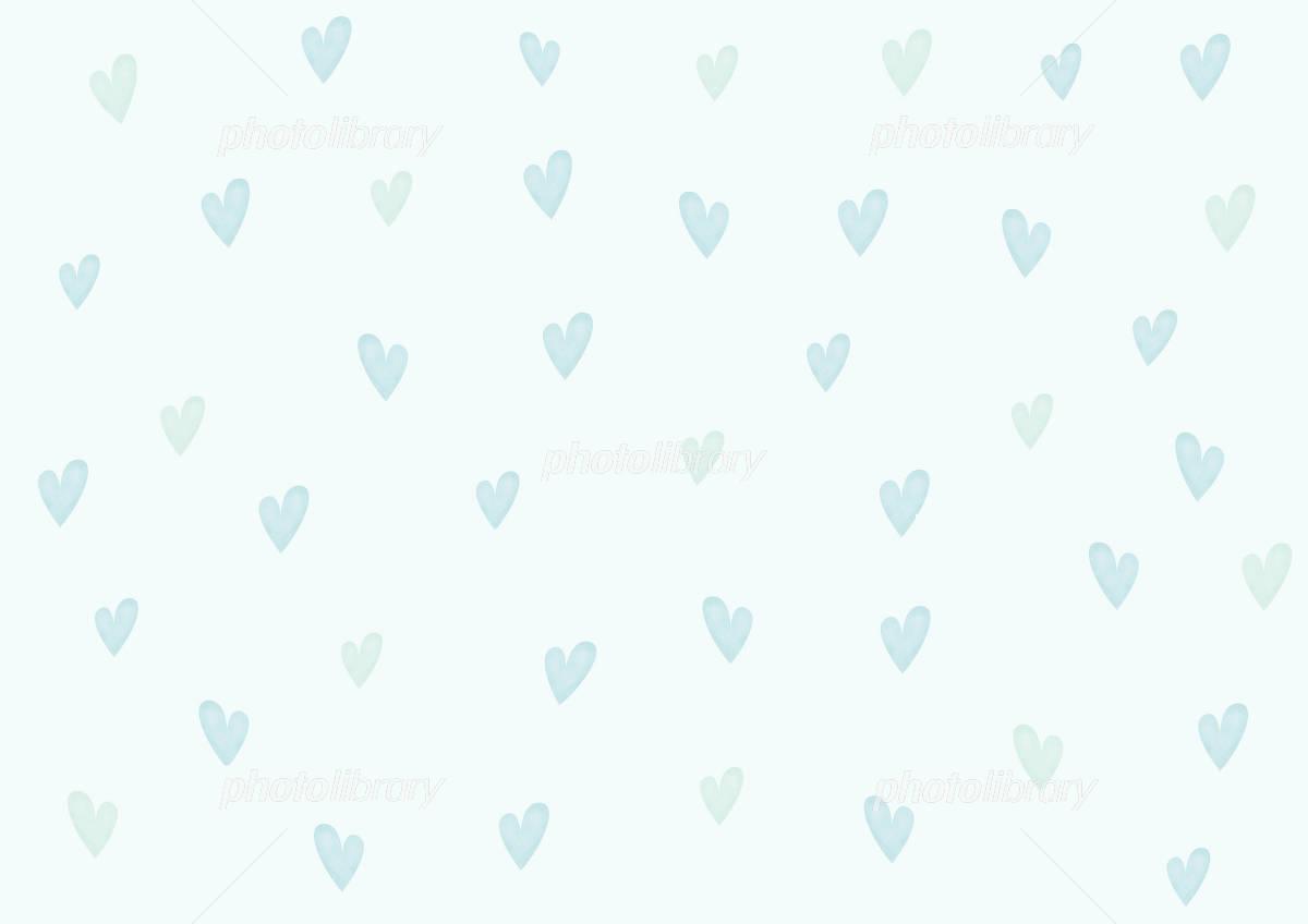 壁紙 ハート 水色 イラスト素材 750393 フォトライブラリー