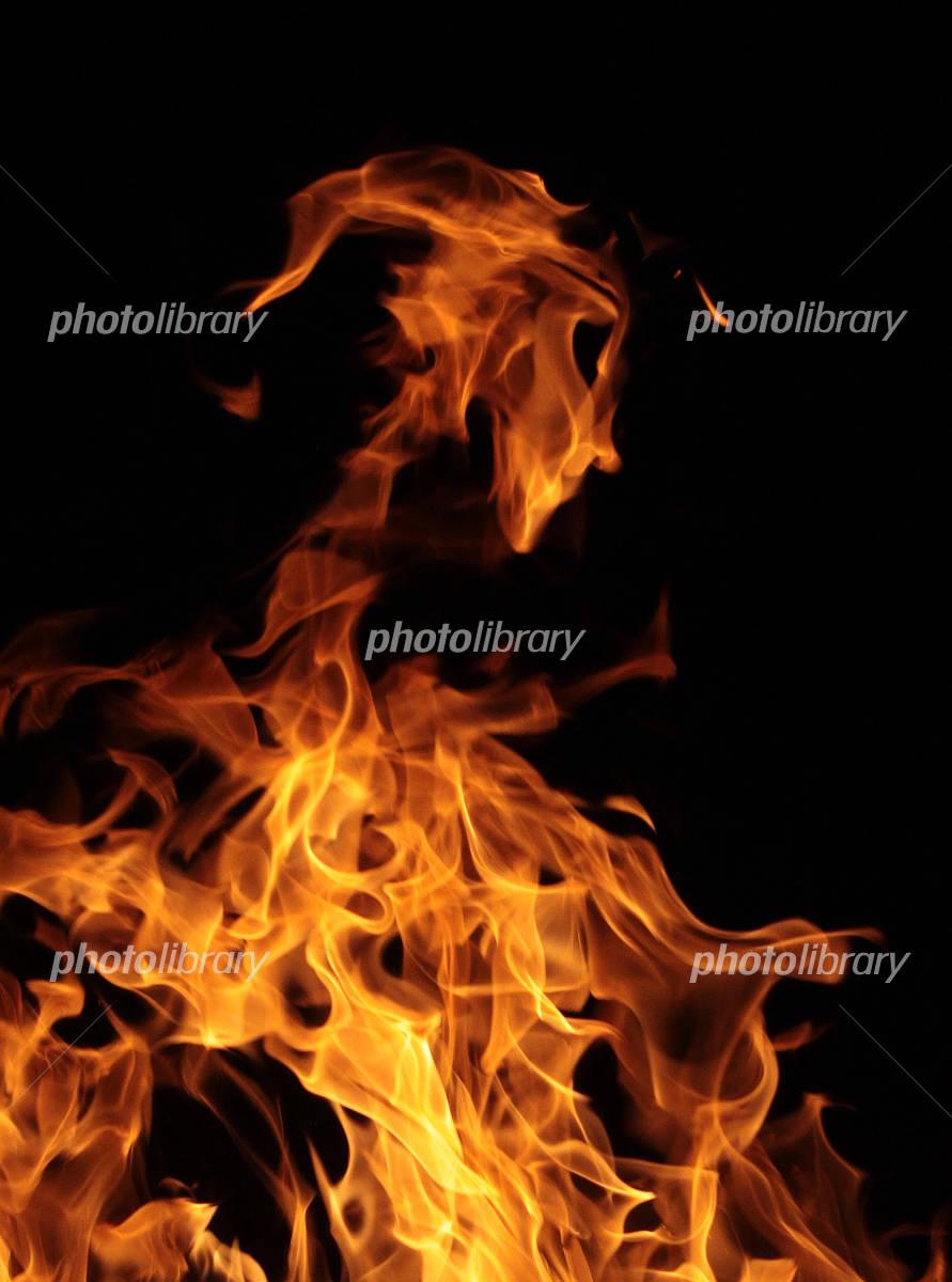 炎 悪魔 火の精の写真