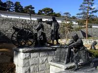 Sculptured group of Nihonmatsu Shonentai Stock photo [751427] Fukushima
