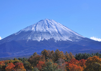Autumn leaves and Mount Fuji Stock photo [755463] Mt.
