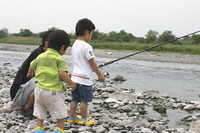 Summer vacation Stock photo [838091] Fishing