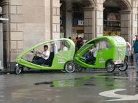 Mexico City eco taxi Stock photo [900199] Mexico