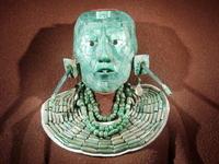 Jade mask replica of the Stock photo [901336] Jade