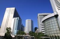 Blue sky of Osaka Station Stock photo [901479] Osaka