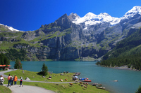 Switzerland Esshinen lake Stock photo [902779] Switzerland