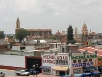 Puebla city as seen from Mexico Cholula ruins Stock photo [904912] Cholula