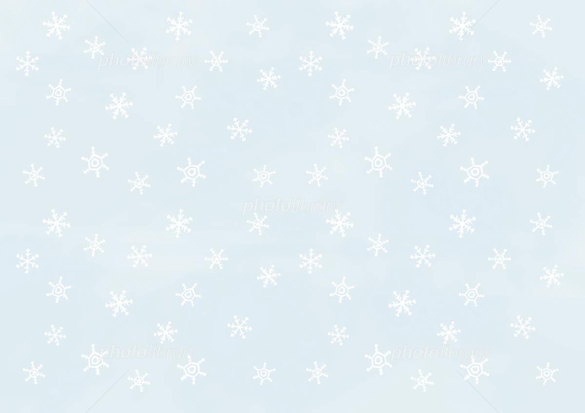壁紙 雪の結晶 薄水色に白 イラスト素材 997290 フォトライブ