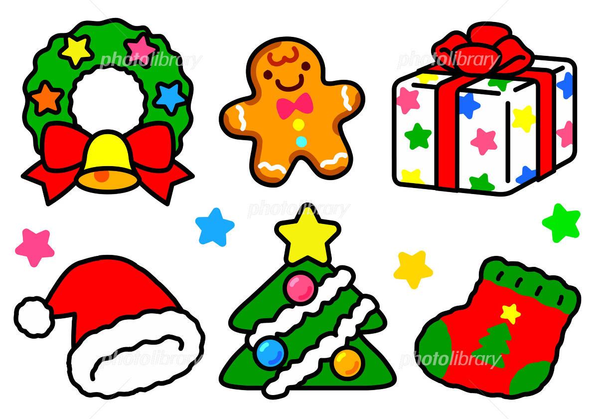 クリスマスの可愛いイラスト イラスト素材 [ 1005628 ] - フォトライブ