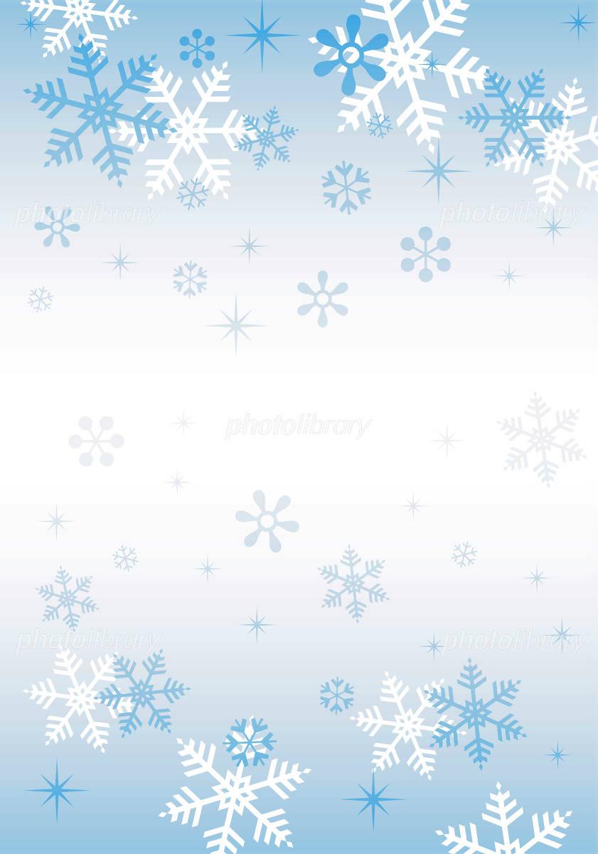 冬の背景素材?雪の結晶? イラスト素材 [ 1009112 ] - フォトライブラリー
