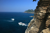 Dogashima and pleasure boat Stock photo [998032] Shizuoka