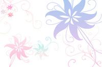 Flower card [998100] Pastel