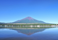 Yamanaka and Mount Fuji Stock photo [998839] Mt.