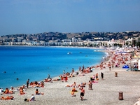 Sea of southern France Nice-Cote d'Azur Stock photo [999923] Nice