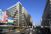 Tennoji district average Stock photo [1004026] Abeno