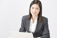 A businesswoman Stock photo [1005390] A