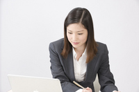 A businesswoman Stock photo [1005427] A
