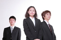 3 men and women business image Stock photo [1006207] Person
