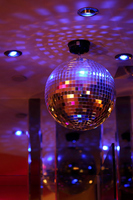 mirror ball around Stock photo [1006806] Mirror