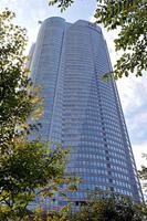 Roppongi Hills Mori Tower from Mohri Garden Stock photo [1007066] Mohri