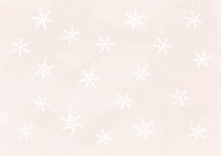 White on wallpaper snow crystal thin pink [1013626] Snow