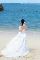 砂浜の花嫁
