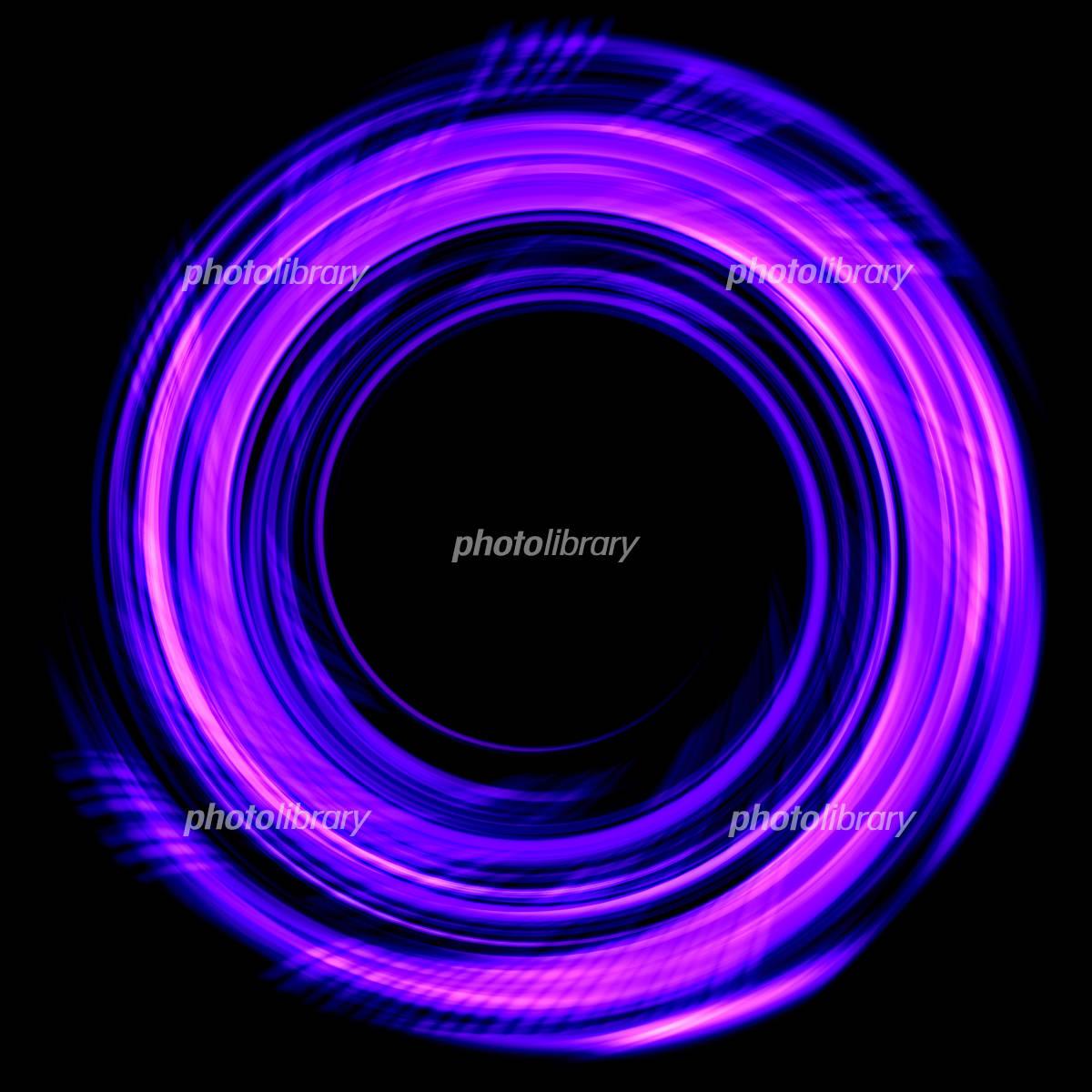 抽象的な光の渦のイラスト素材