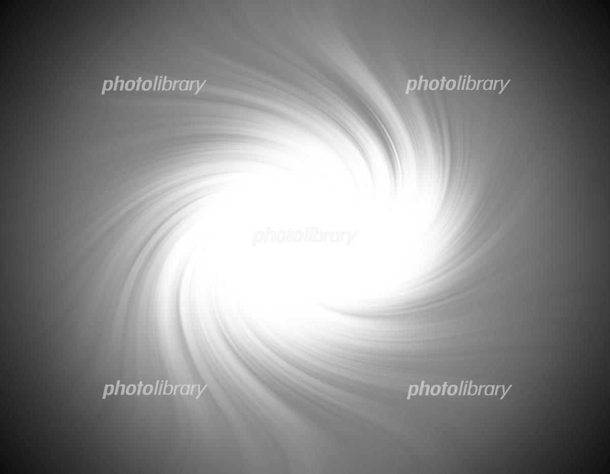 抽象的な光の渦のイラスト