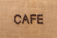 Coffee beans Stock photo [1114865] Cafe