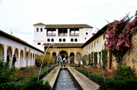 Courtyard of Asekia of Alhambra Stock photo [1120472] World