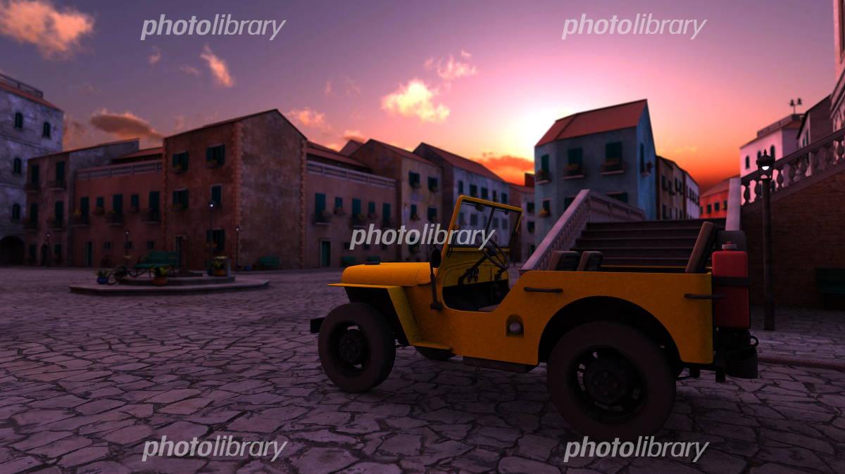 ジープ イラスト素材 1228614 フォトライブラリー Photolibrary