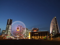 Ferris wheel Stock photo [1221658] Yokohama