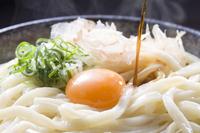 Kama-dama Udon Stock photo [1222660] Sanuki