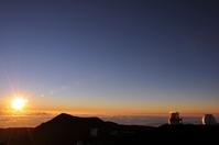 Sunset from Mauna Kea Stock photo [1224376] Mauna